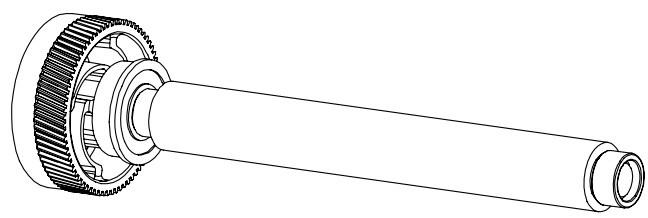 HONEYWELL Druckwalze - für M-Class M-4206