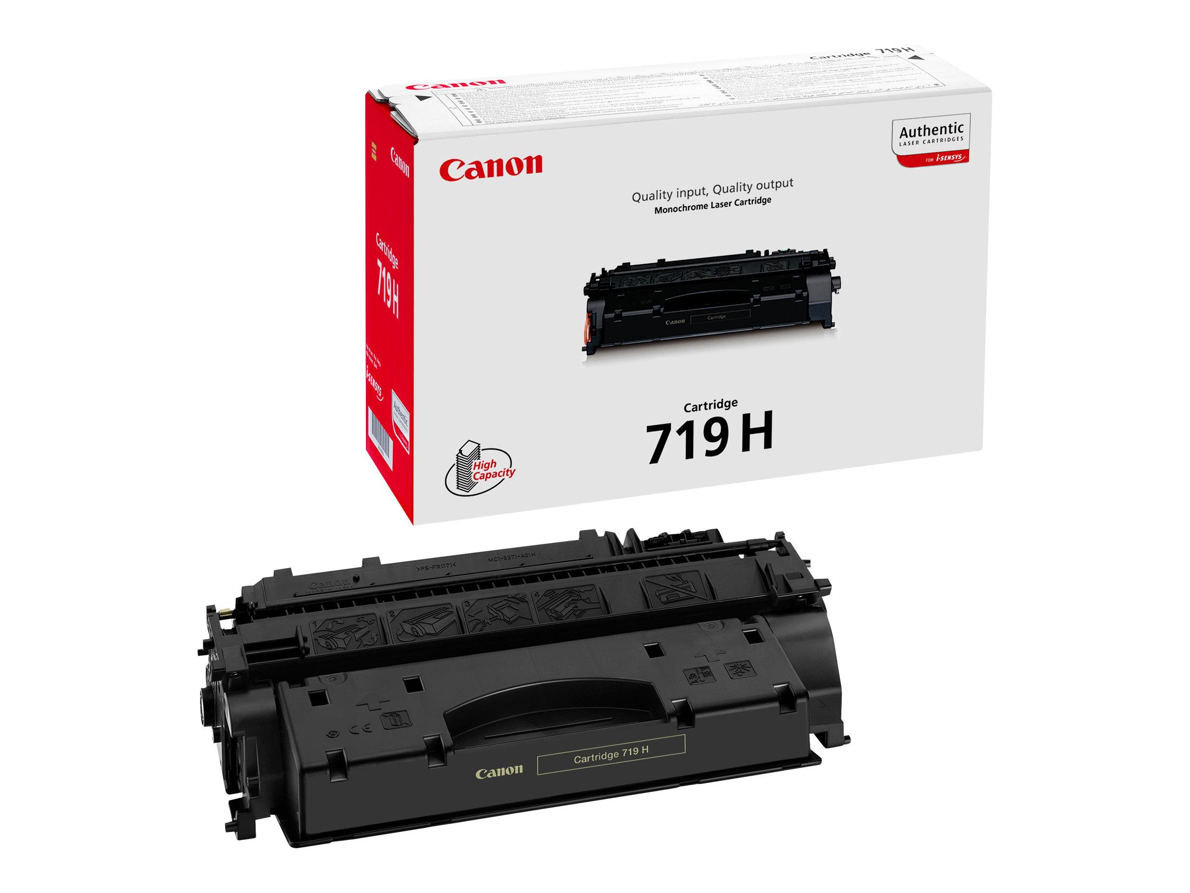 Canon 719 H - Hohe Ergiebigkeit - Schwarz - Original