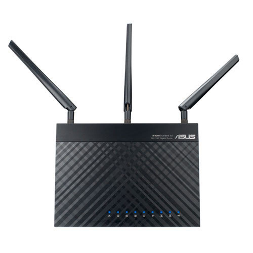 ASUS-RT-AC66U-Dual-band-2-4-GHz-5-GHz-Wi-Fi-5-802-11ac-90IG0300-BM3000 miniatura 3