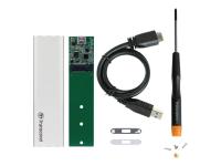 CM80 SSD enclosure Silber