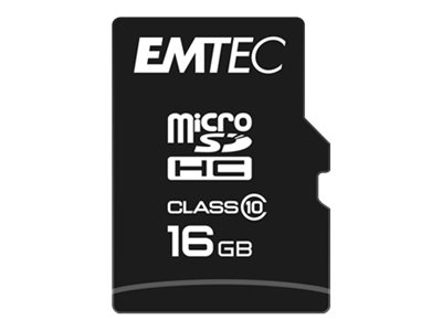 EMTEC Flash-Speicherkarte - 16 GB - Class 10