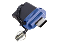 49965 16GB USB 3.0 (3.1 Gen 1) Type-A/Type-C Schwarz - Blau - Silber USB-Stick