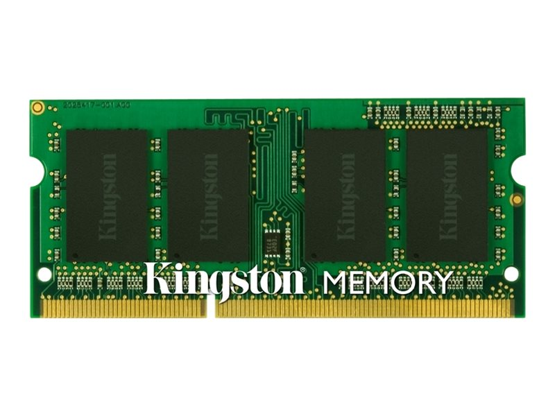 Kingston DDR3 - 8 GB - SO DIMM 204-PIN - 1333 MHz / PC3-10600 - CL9 - 1.5 V - ungepuffert - nicht-ECC