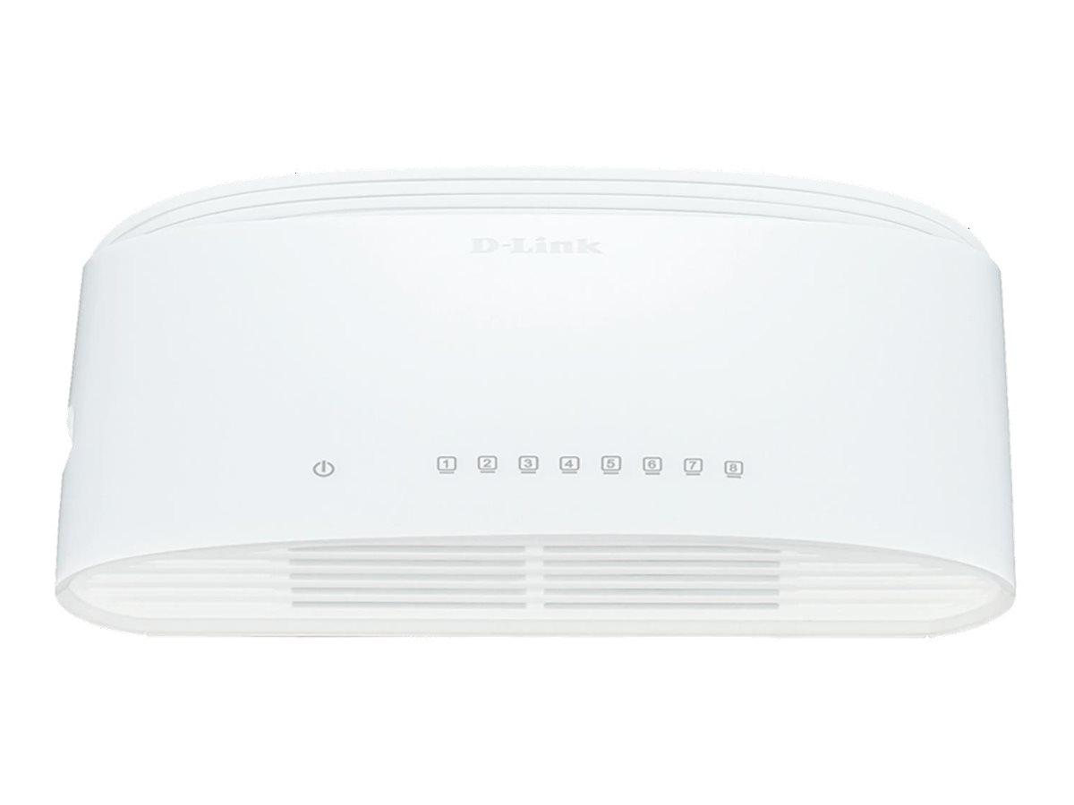 D-Link DGS 1008D - Switch - 8 x 10/100/1000