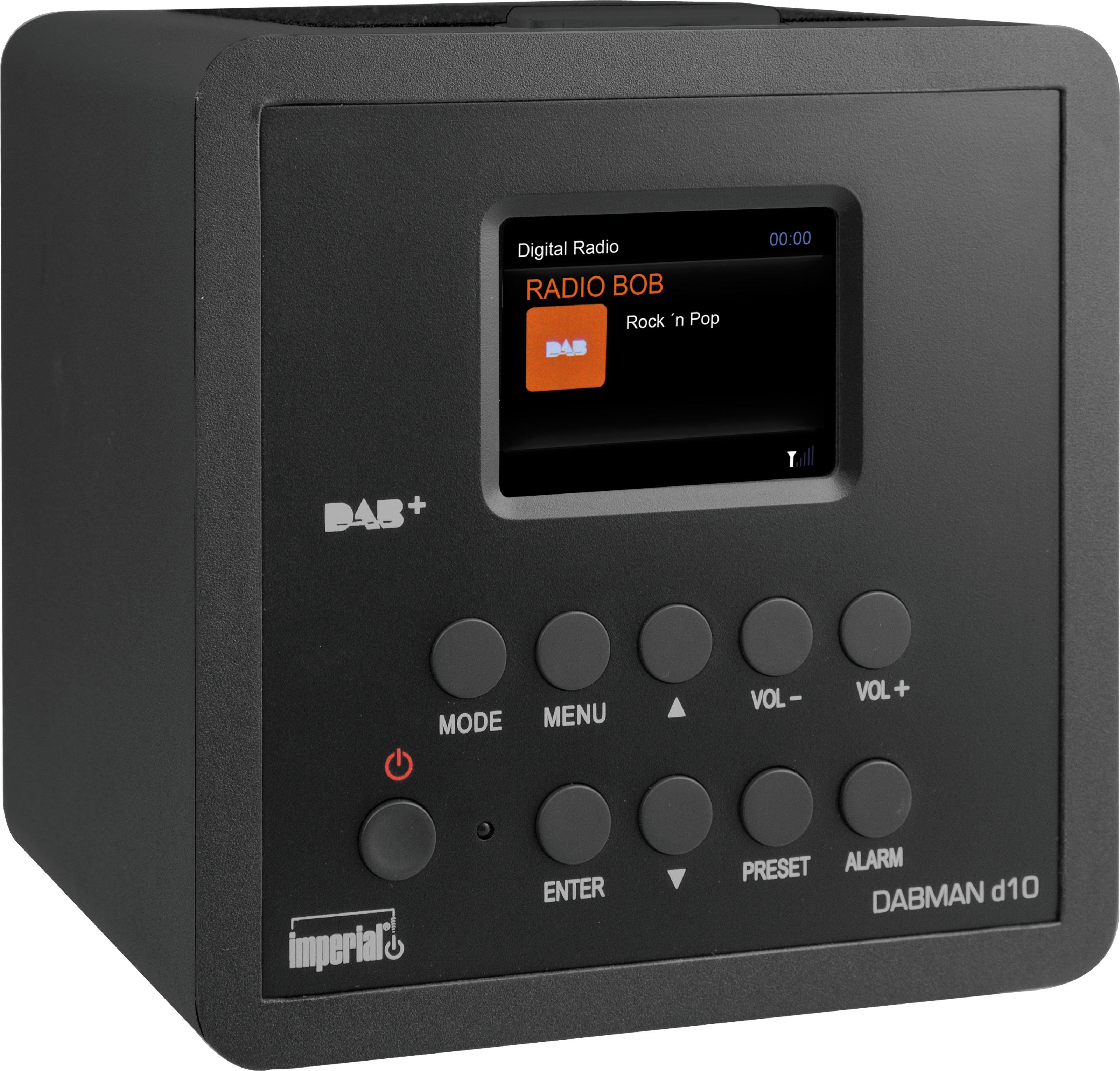 Telestar DABMAN d10 - Tragbar - Analog & Digital - DAB+,FM - 4 W - TFT - 6,1 cm (2.4 Zoll)