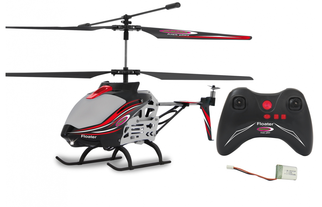 JAMARA 410145 - Helikopter - Flugbereit (RTF) - Elektromotor - Koaxialrotoren - Flybarless (FBL) Rotorkopf - 2 Rotoren
