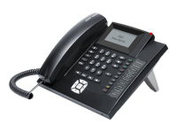 COMfortel 1200 IP Analoges Telefon Anrufer-Identifikation Schwarz