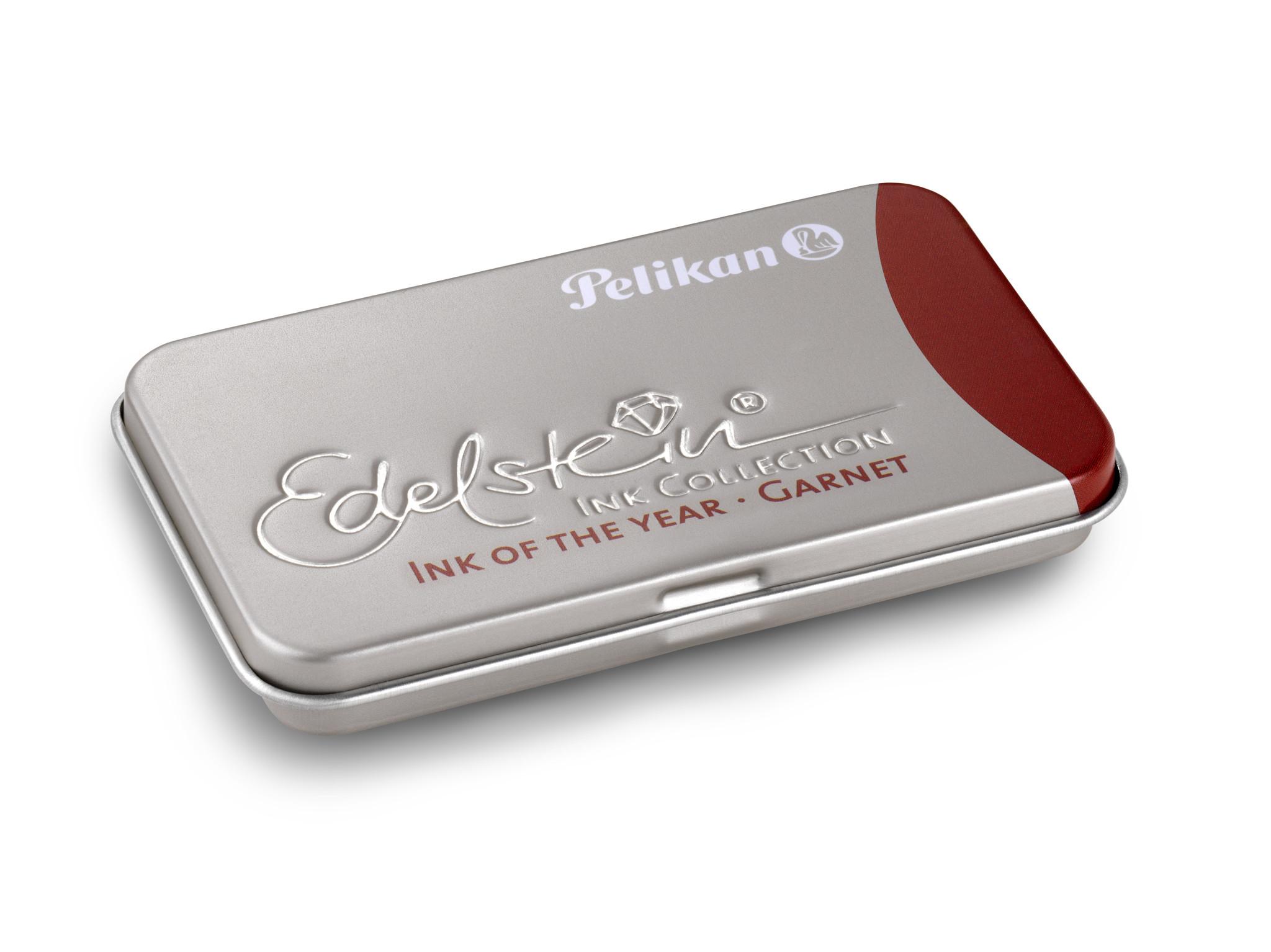 Pelikan 339648 - Rot - Rot - Silber - Füllfederhalter - Deutschland - Box - 6 Stück(e)