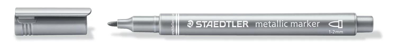 STAEDTLER 8323 - Marker - metallic Stift - silber