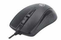 179331 - Maus (Mouse), Kabel, 3 Tasten, schwarz