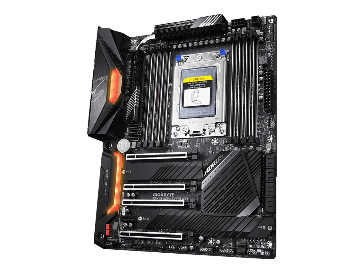 Gigabyte TRX40 AORUS PRO WIFI - 1.0 - Motherboard - ATX - Socket sTRX4 - AMD TRX40 - USB-C Gen2, USB 3.2 Gen 1, USB 3.2