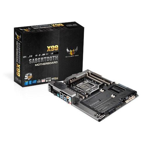 ASUS SABERTOOTH X99 Intel X99 LGA 2011-v3 ATX Mainboard