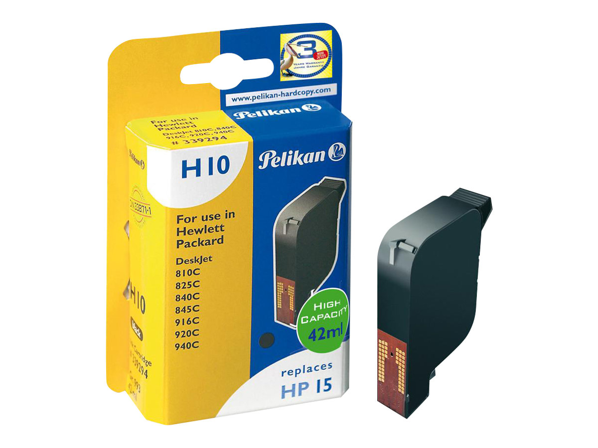 Pelikan H10 - 42 ml - Schwarz - compatible - Tintenpatrone