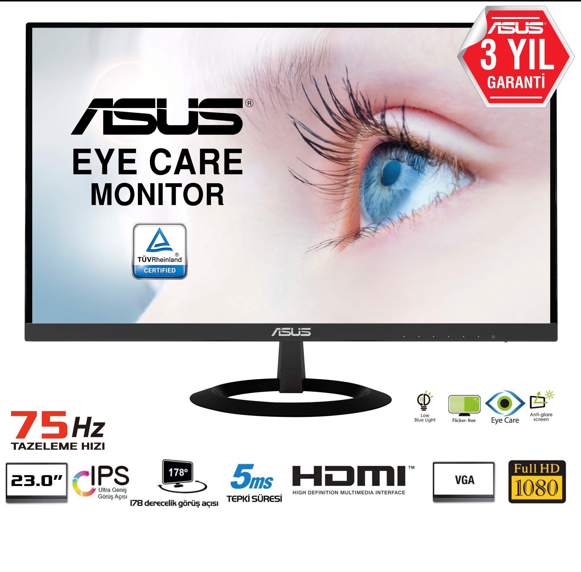 "ASUS VZ239H - LED-Monitor - 58.4 cm (23"") - 1920 x 1080 Full HD (1080p)"