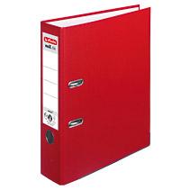 Herlitz 5480306 - A4 - Polypropylen (PP) - Rot - Weiß - 8 cm - 1 Stück(e)