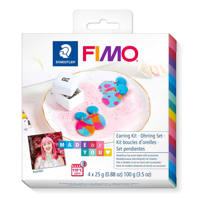Vorschau: STAEDTLER FIMO 8025 DIY - Knetmasse - Beere - Blau - Orange - Erwachsene - 4 Stück(e) - 4 Farben - 110 °C