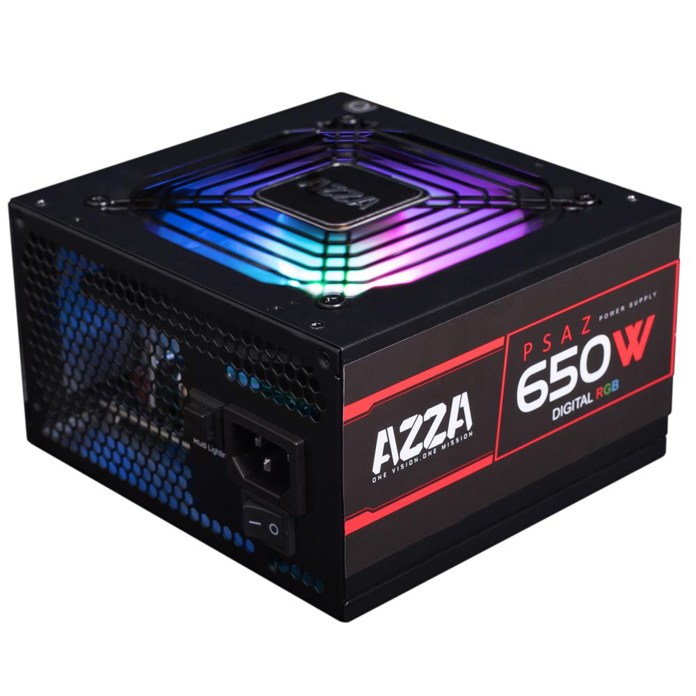 AZZA PSAZ-650W(ARGB) - 650 W - 200 - 240 V - 47 - 53 Hz - 100 W - 576 W - 100 W