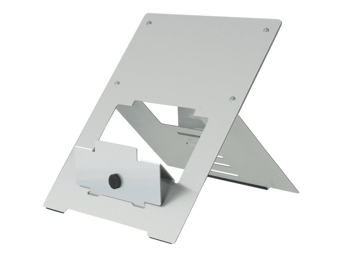 R-Go Riser flexible - Notebook-Ständer - Silber