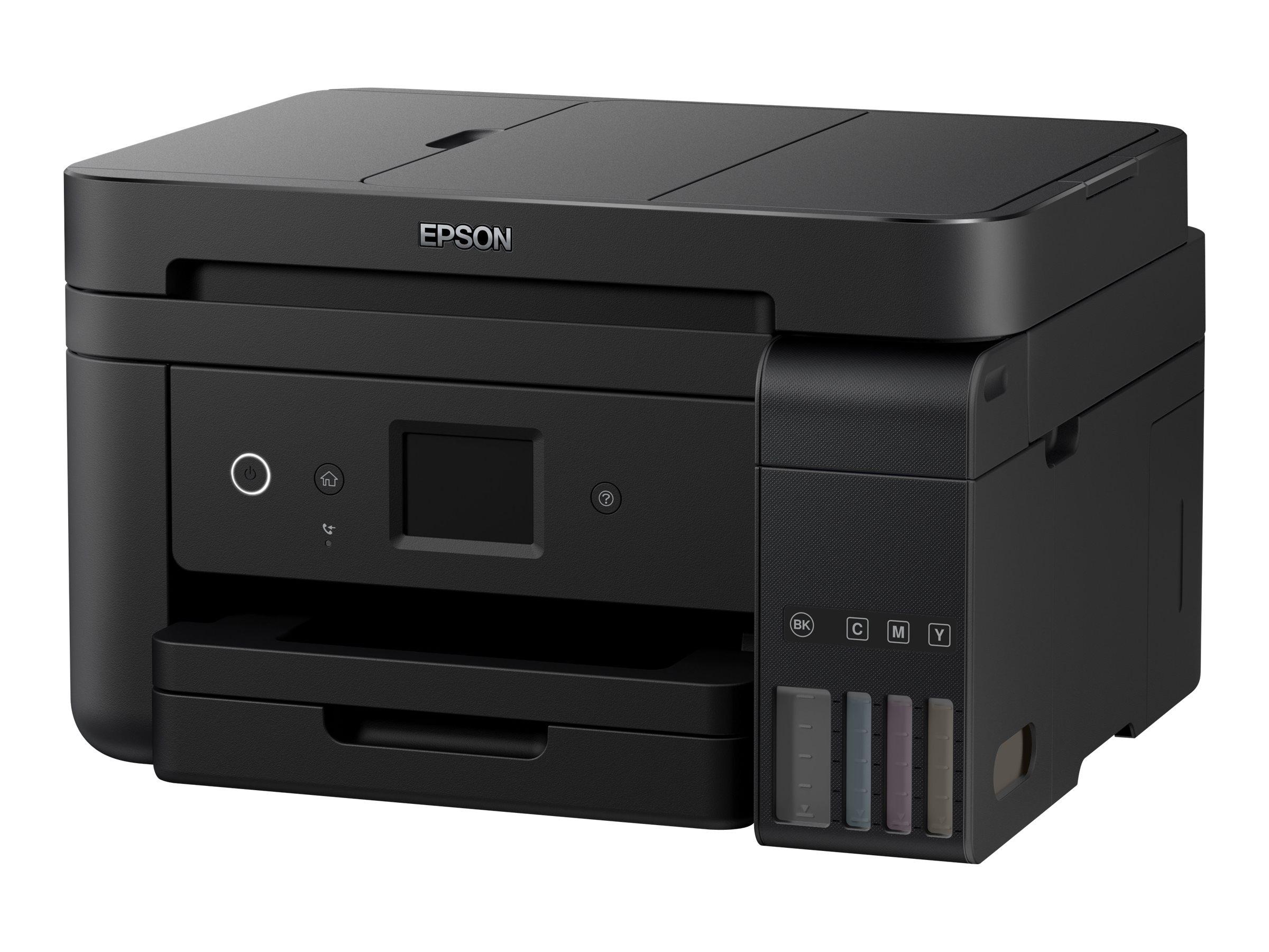 Epson EcoTank ET-4750 - Multifunktionsdrucker - Farbe - Tintenstrahl - A4/Legal (Medien)
