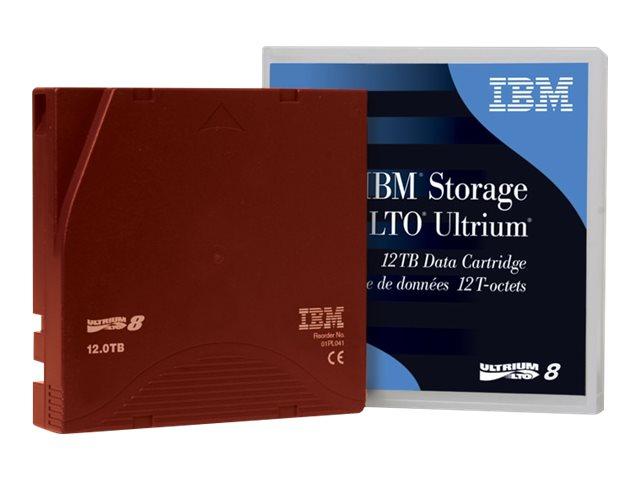 IBM Lenovo - LTO Ultrium 8 - 12 TB / 30 TB - Mit Strichcodeetikett