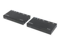 207638 Audio-/Video-Leistungsverstärker AV transmitter & receiver Schwarz