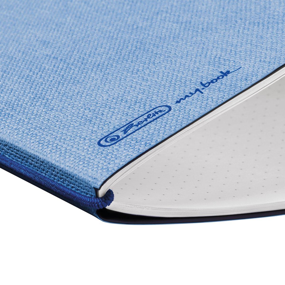 Herlitz 50033737 - Einfarbig - Blau - A6 - 40 Blätter - Erwachsener