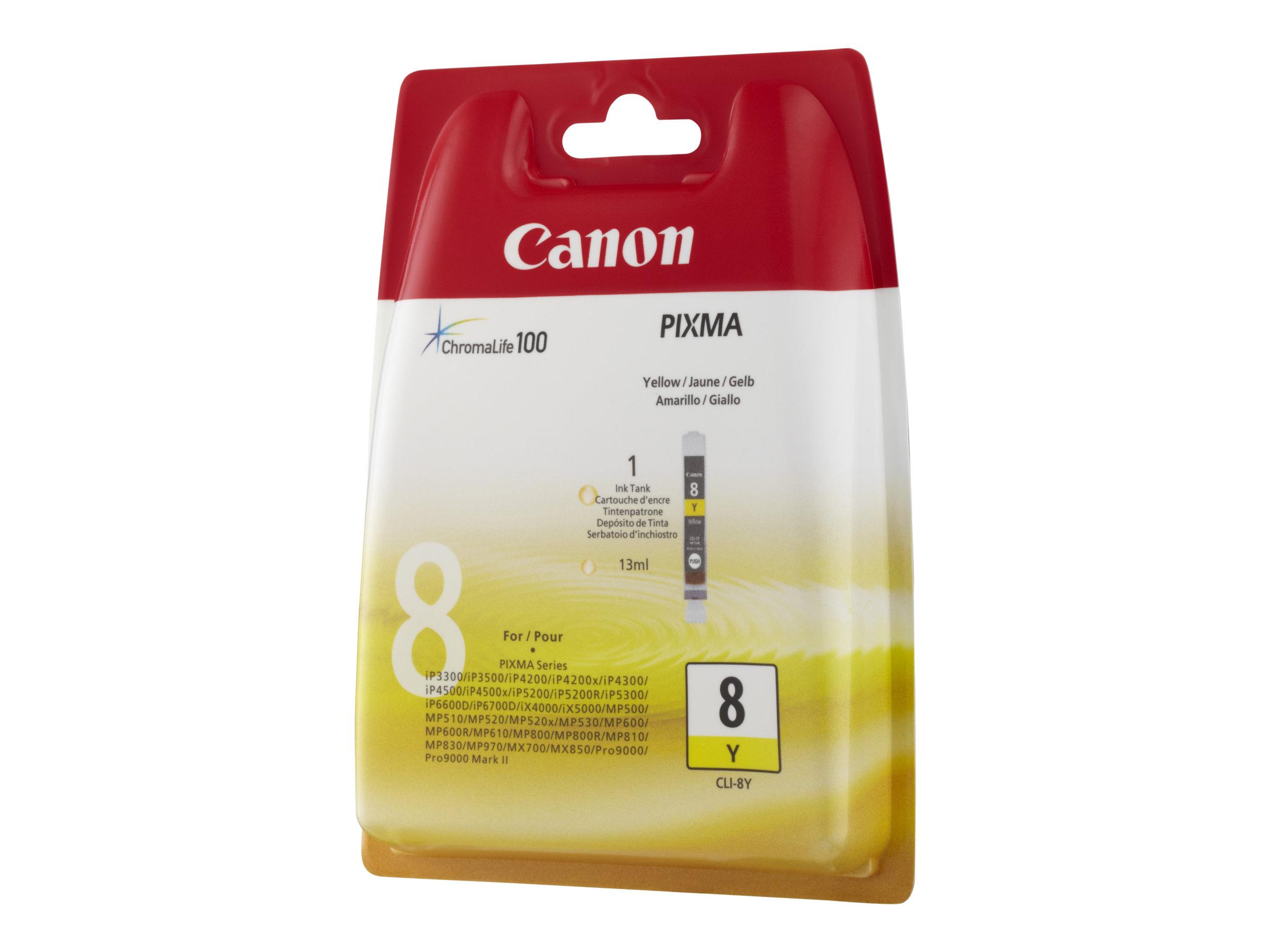 Canon CLI-8Y - Gelb - Original - Tintenbehälter