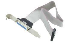 Lindy Druckerschnittstelle mit Slotblech - Kabel