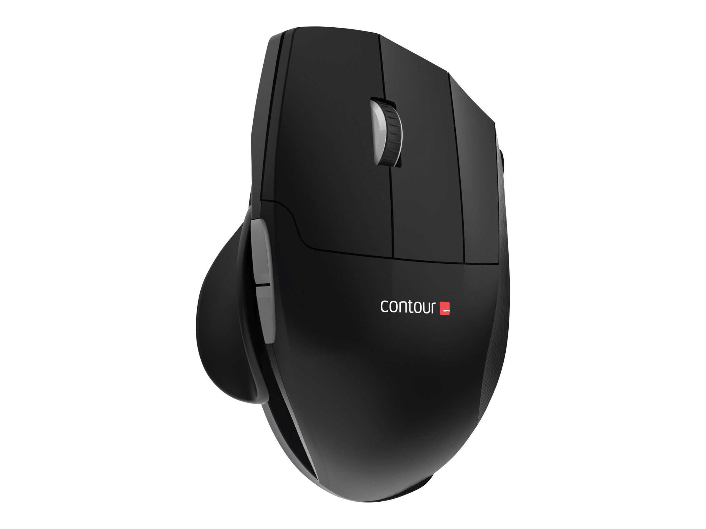 Contour Unimouse - Maus - ergonomisch - Infrarot - 7 Tasten - kabellos - 2.4 GHz - kabelloser Empfänger (USB)