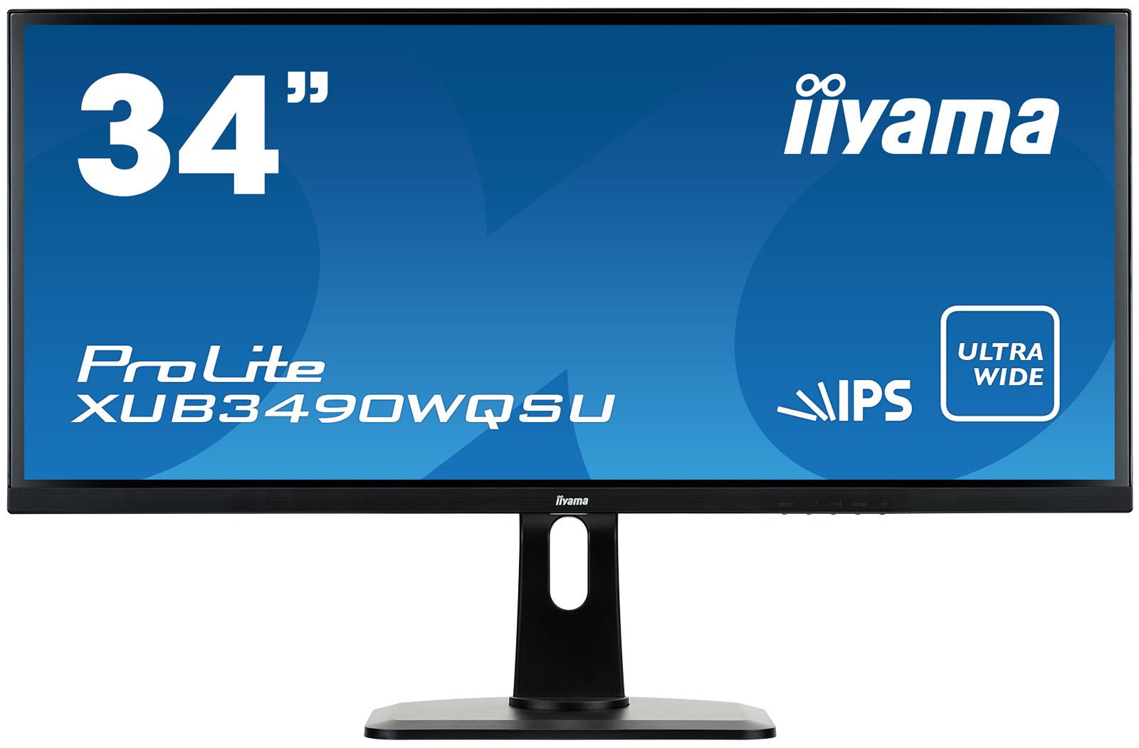 Iiyama ProLite XUB3490WQSU-B1 - LED-Monitor - 86.7 cm (34)