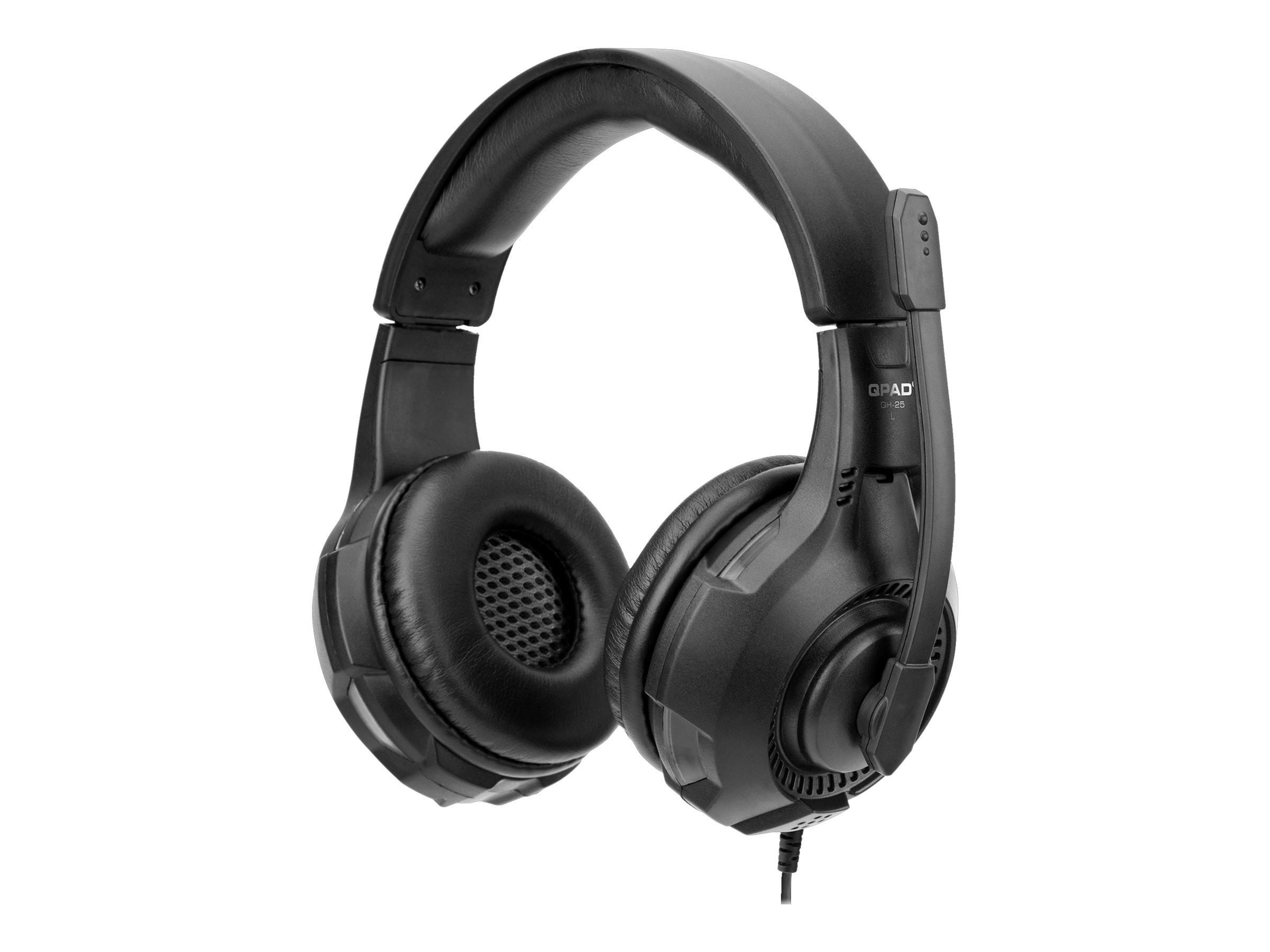 QPAD QH25 - Headset - Gaming - ohrumschließend