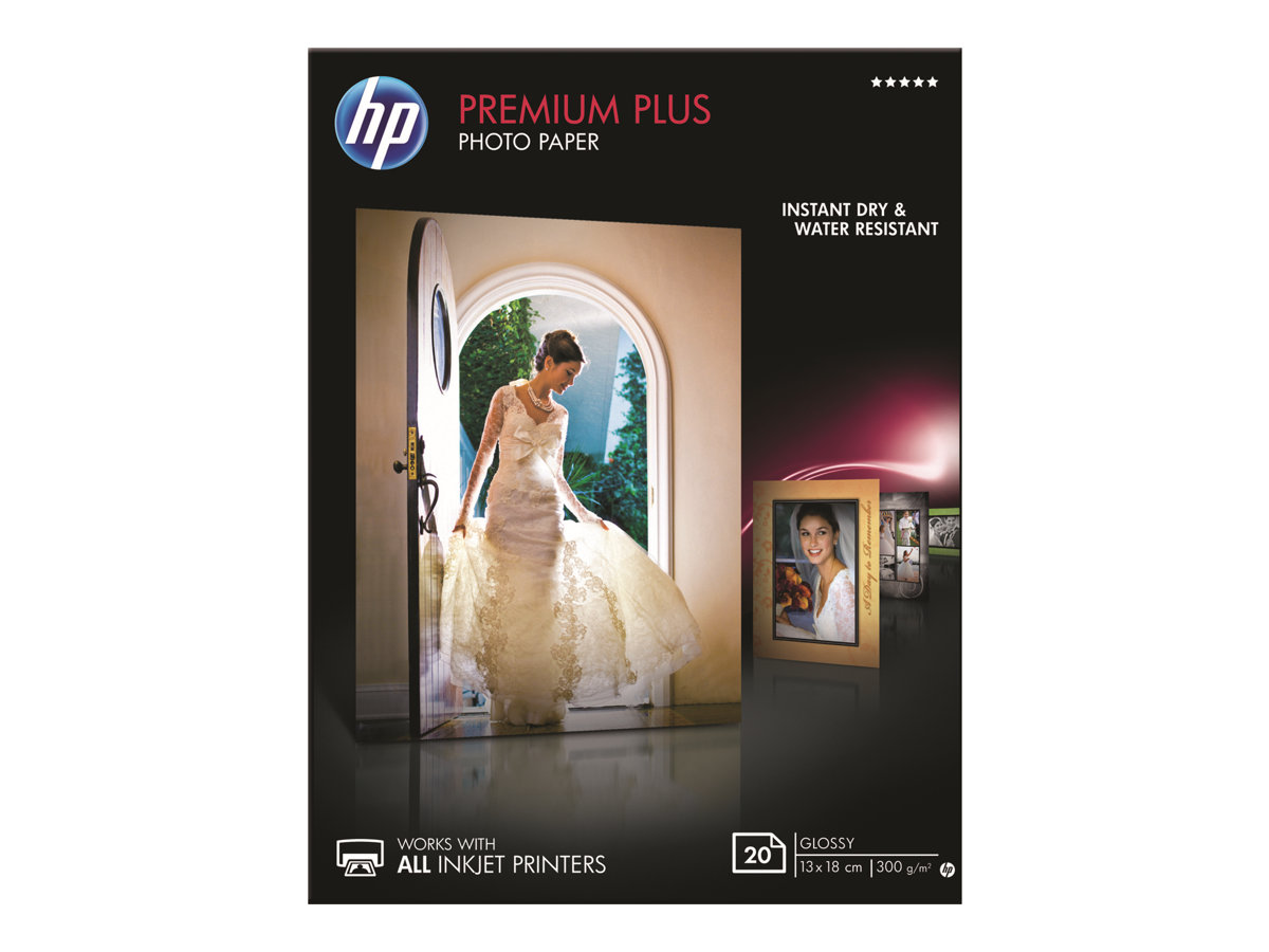 HP Premium Plus Photo Paper - Glänzend - 130 x 180 mm