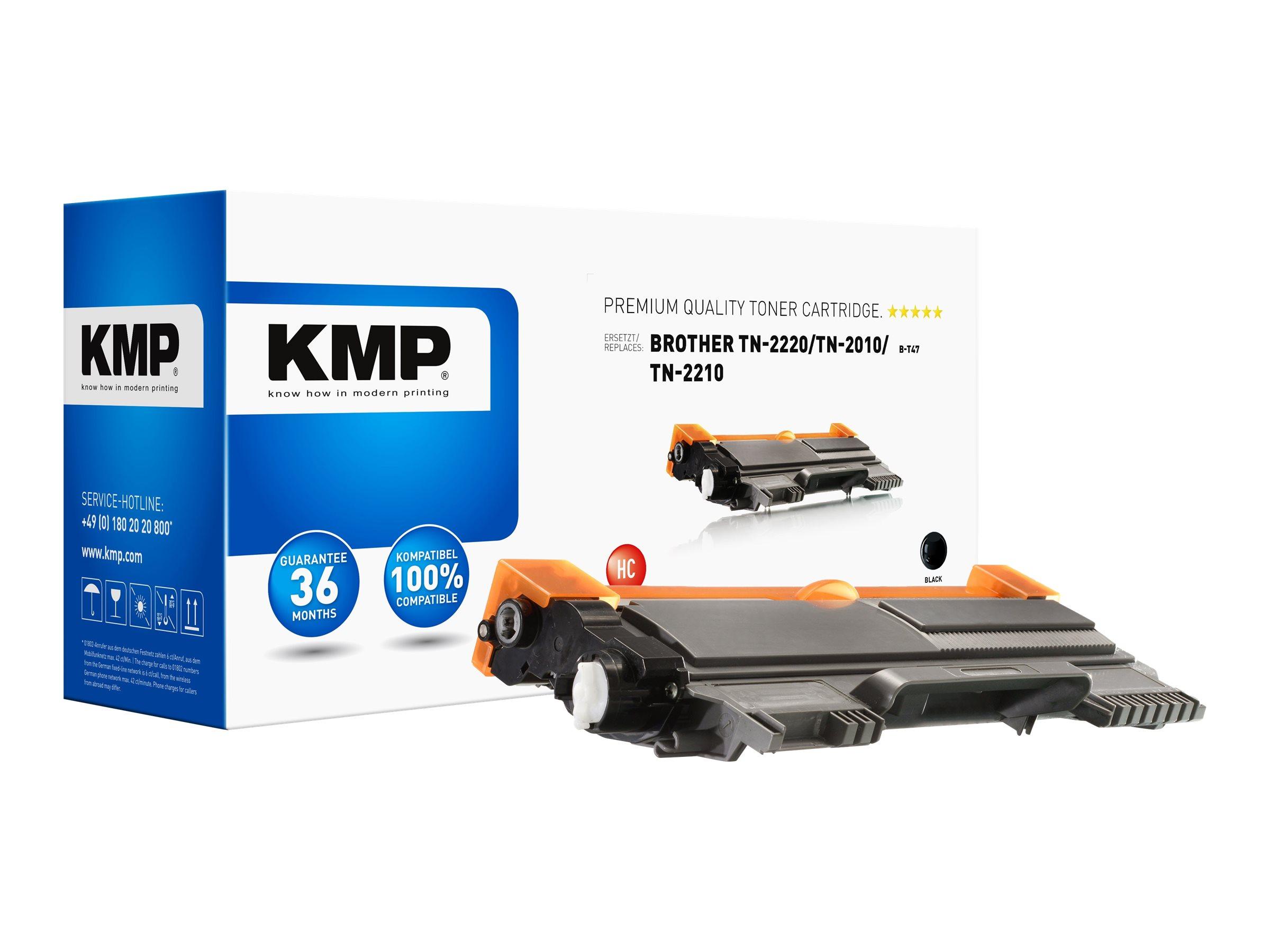 KMP B-T47 - Mit hoher Kapazität - Schwarz - kompatibel