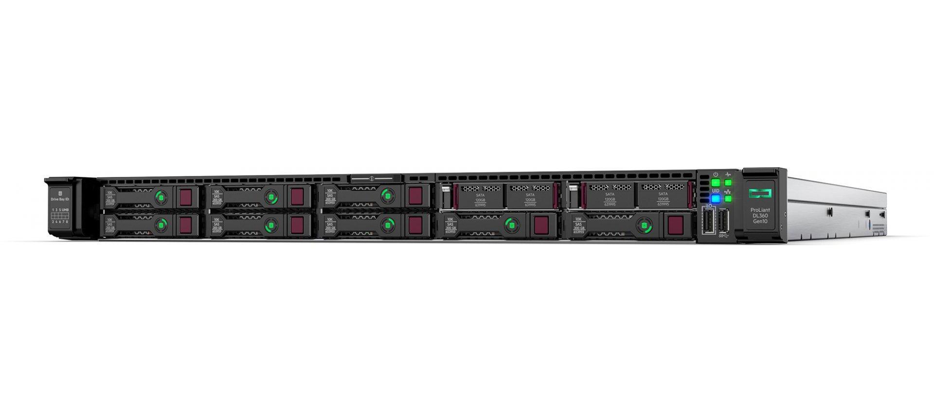 "HP Enterprise ProLiant DL360 Gen10 Network Choice - Server - Rack-Montage - 1U - zweiweg - 1 x Xeon Gold 6248R / 3 GHz - RAM 32 GB - SAS - Hot-Swap 6.4 cm (2.5"")"
