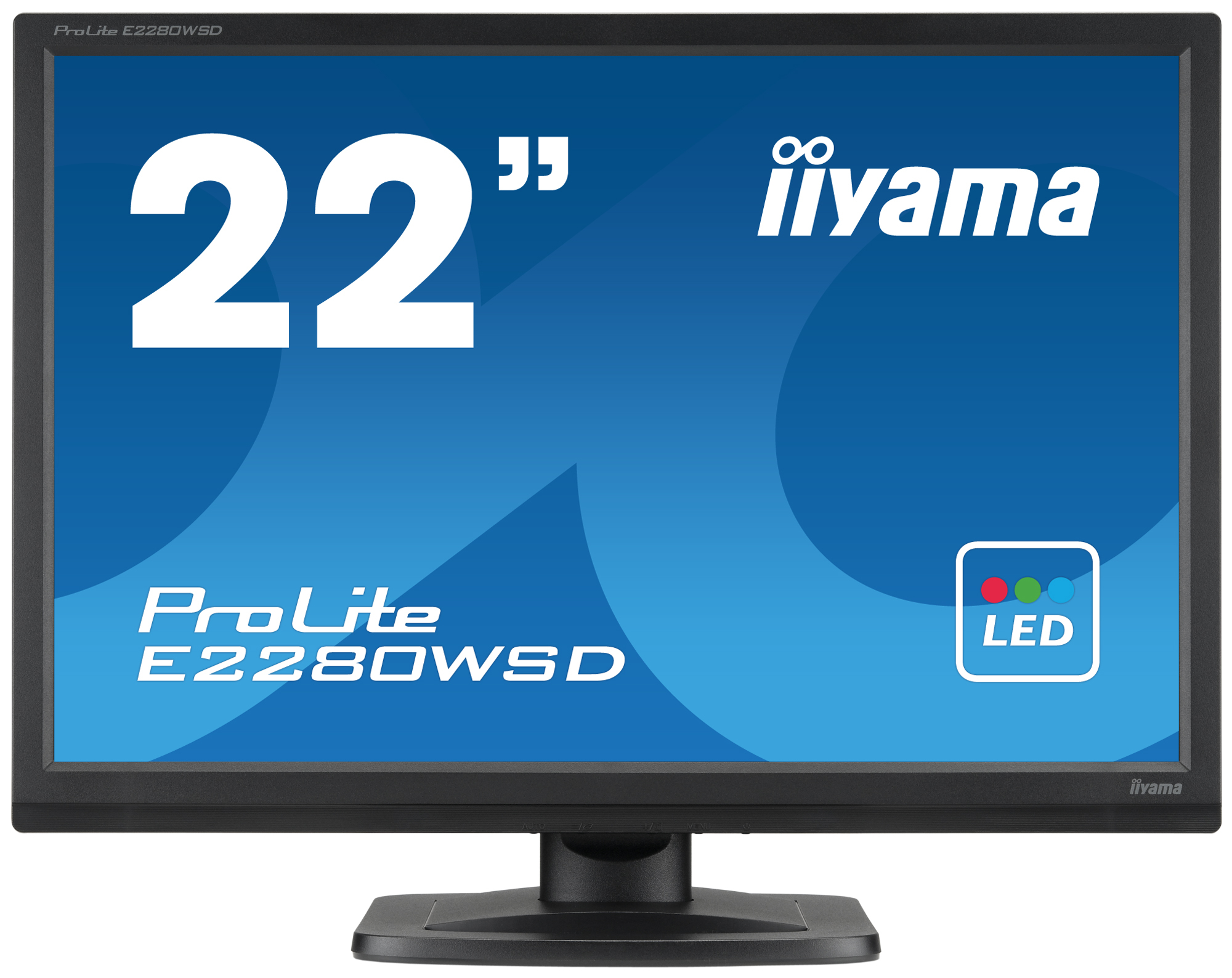 Iiyama ProLite E2280WSD-B1 22Zoll TN Matt Schwarz Computerbildschirm LED display