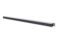 163644 Stromverteilereinheit (PDU) Schwarz - Silber 24 AC-Ausgänge