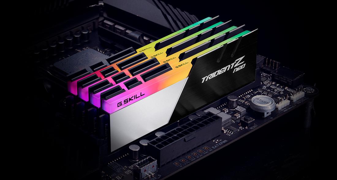 G.Skill TridentZ Neo Series - DDR4 - kit - 64 GB: 2 x 32 GB