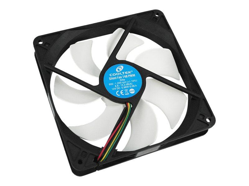 PC-Cooling Cooltek Silent Fan Series - Gehäuselüfter - 140