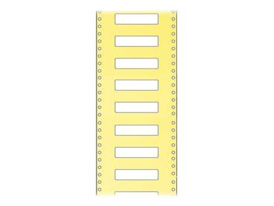 HERMA Kunststoff - halbglänzend - permanenter Klebstoff - weiß - 52 x 25 mm 5000 Etikett(en) (1 Rolle(n)