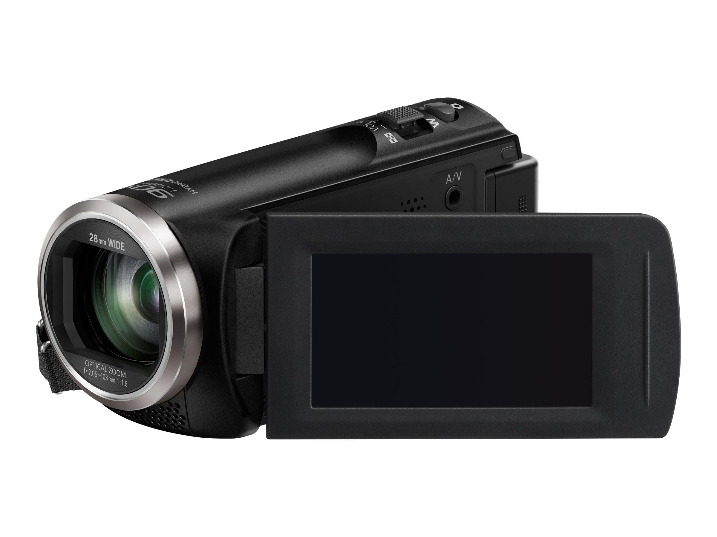 Panasonic HC-V180 - Camcorder - 1080p / 50 BpS