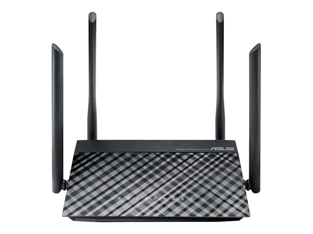 Vorschau: ASUS RT-AC1200 - V2 - Wireless Router - 4-Port-Switch