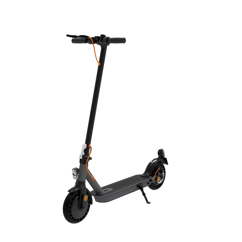 TrekStor EG 3178 - Klassischer Roller - 20 km/h - 120 kg - ab 14 Jahre - Schwarz - Grau
