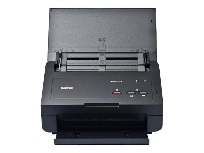 Brother ADS-2100e - Dokumentenscanner - Duplex - 215.9 x 863 mm - 600 dpi x 600 dpi - bis zu 24 Seiten/Min. (einfarbig)