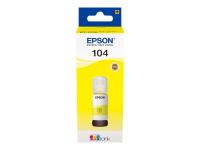 104 EcoTank Yellow ink bottle