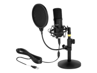 Professional USB Condenser Microphone Set for Podcasting and Gaming - Mikrofon - USB