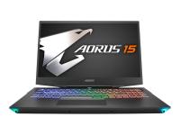 """Aorus 15-SA-7DE0250W i7-9750H 16GB/512GB SSD 39,6cm/15.6"""" FHD GTX1660Ti W10P - Core i7 - 2,6 GHz"""