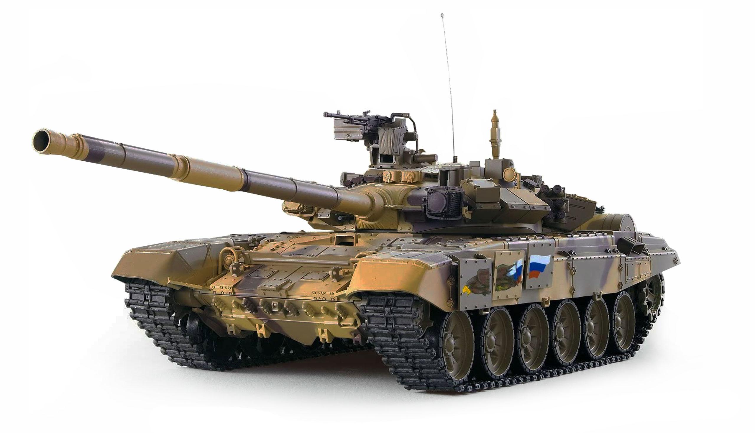 Vorschau: Amewi T-90 - Funkgesteuerter (RC) Panzer - Elektromotor - 1:16 - Betriebsbereit (RTR) - Junge - 14 Jahr(e)