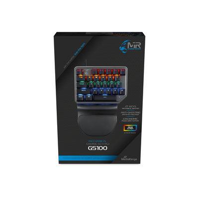 Vorschau: MEDIARANGE kabelgeb. mechanisches Gaming-Pad mit RGB-Effekt