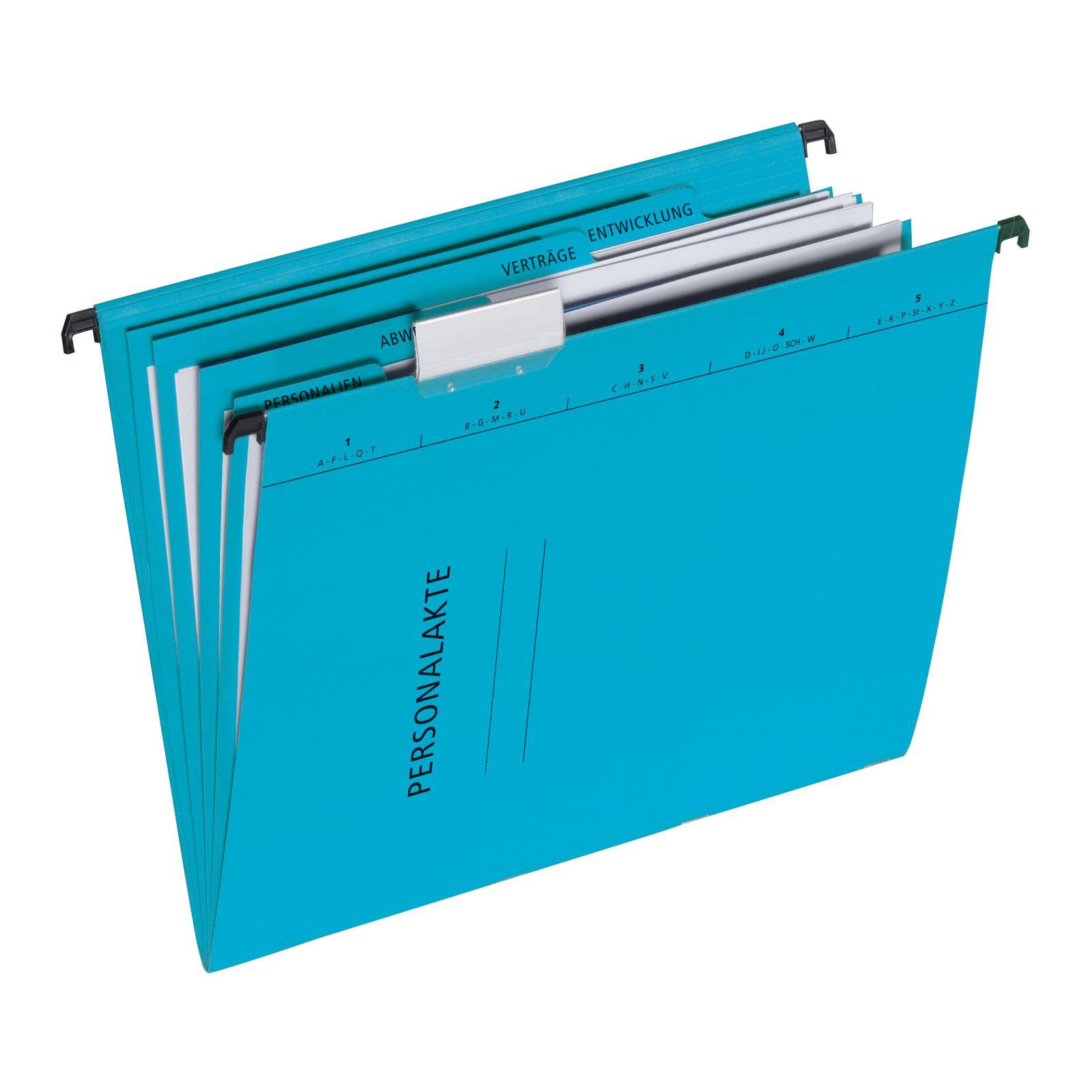 Pagna 44105-02 - Konventioneller Dateiordner - A4 - Karton - Blau - 3 Taschen - 245 mm