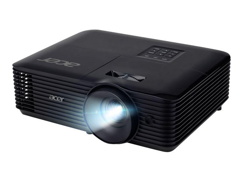 Acer X1227i - DLP-Projektor - UHP - tragbar - 3D - 4000 ANSI-Lumen - XGA (1024 x 768)